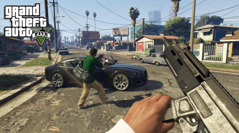 gtav first person
