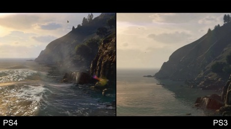 gtav graphics comparison