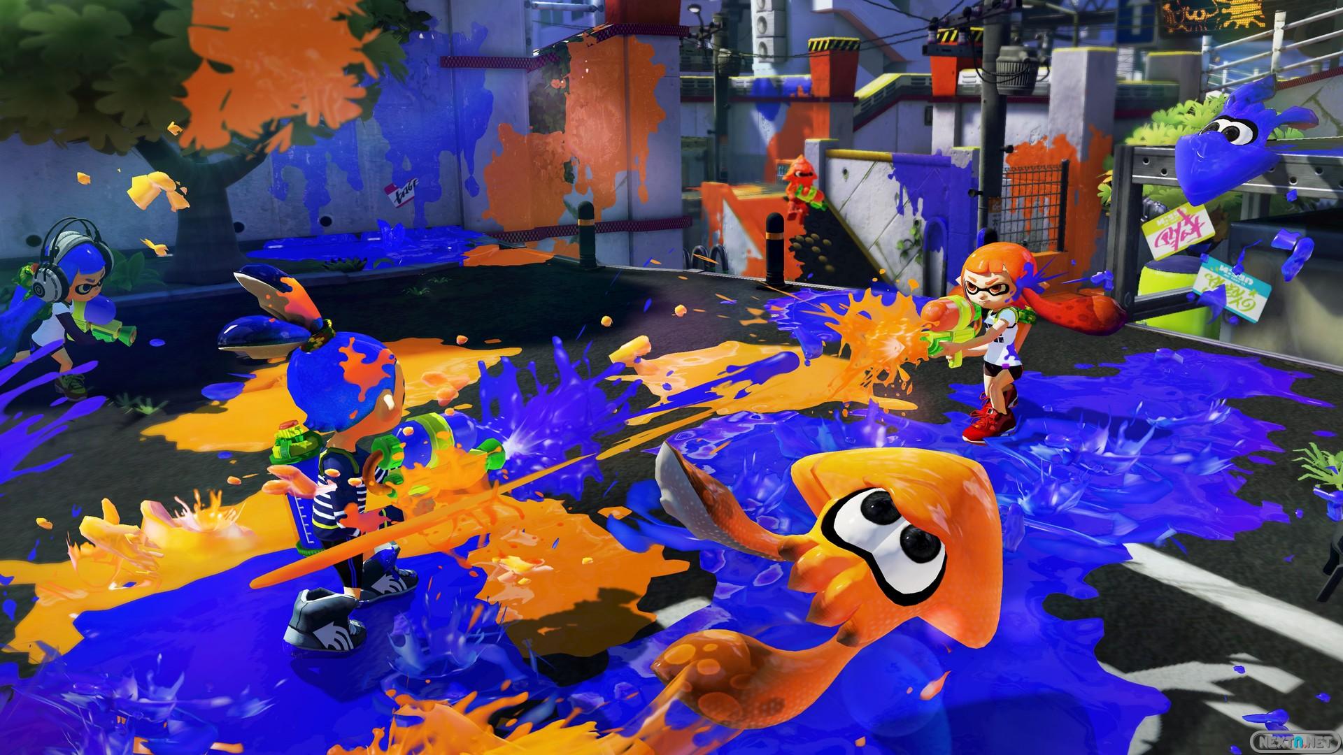 Wii U Special Edition Splatoon Deluxe Set is a Best Buy ...  |Splatoon Wii